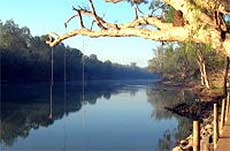 Daly River in NT