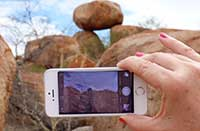 WiFi at Devils Marbles in the Northern Territory