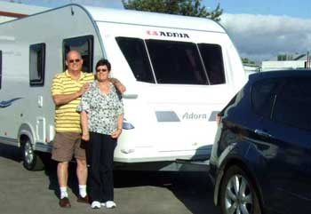 Caravanning News - Adelaide couple chalk up the Adria trifecta